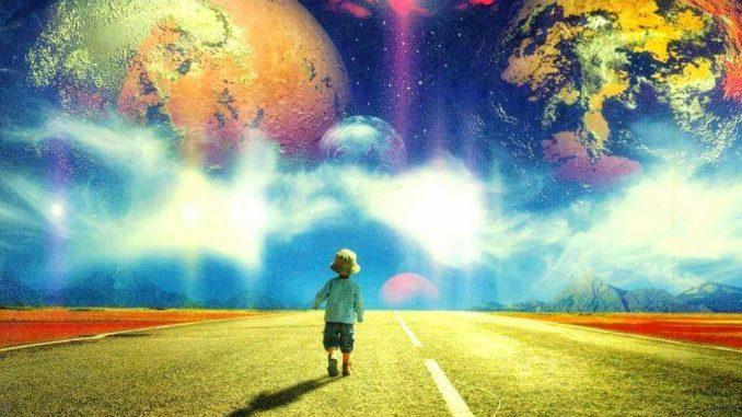 Ребенок и космос